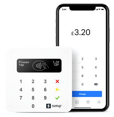 ✰ SumUp Air Bluetooth Card Reader ✰ ✰ Brand New ✰ OFFICIAL PARTNER ✰ UK BASED • 29.99£