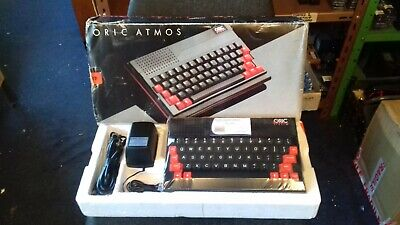 Rare Vintage Tangerine Oric Atmos Computer System (mint Boxed) • 349£