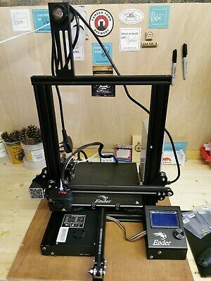 Creality Ender 3 3D Printer + Accessories - Used But Very Good Condition  • 115£