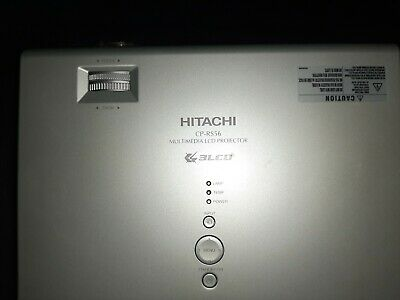 Hitachi CPR-RS56 Multimedia LCD Projector • 50£
