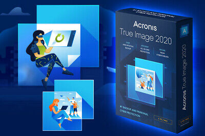 Acronis True Image Backup 2020 + Boot 🔥Fully 100% Activated Lifetime Licence🔥 • 1.99£