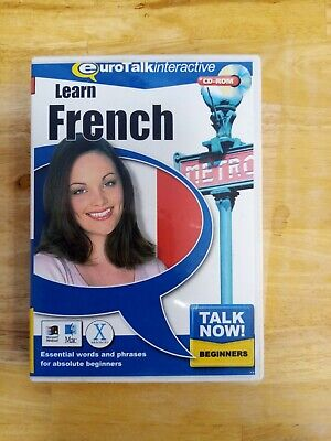 Talk Now! Learn French: Beginners - PC-CD/MAC • 3£