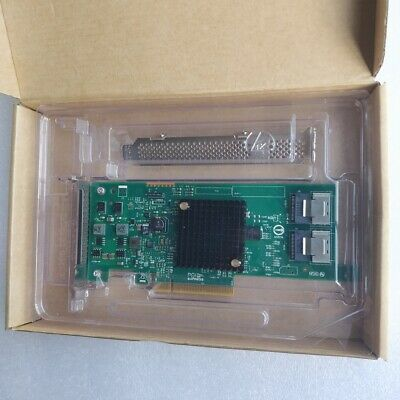 OEM LSI SAS 9207-8i IT Mode P20 SATA/SAS 6Gb/s PCI-E 3.0 Host Bus Adapter 27NFF • 33.66£