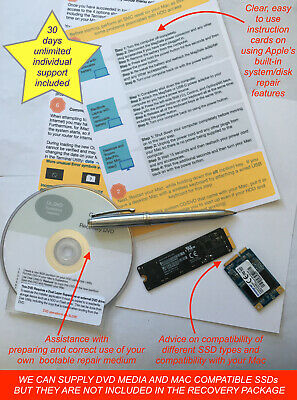 Support Package For MacBook And Mac OS System Repair - Fix Or Refund Guarantee • 10£