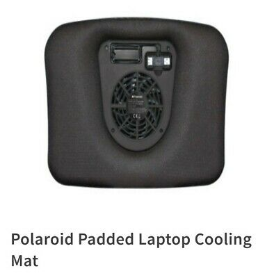 Laptop Cooler Stand Padded With Fan Usb Power & Plug And Play • 10£