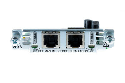 USED Cisco VIC2-2FXS 2-port Voice Interface Card - FXS • 30.56£