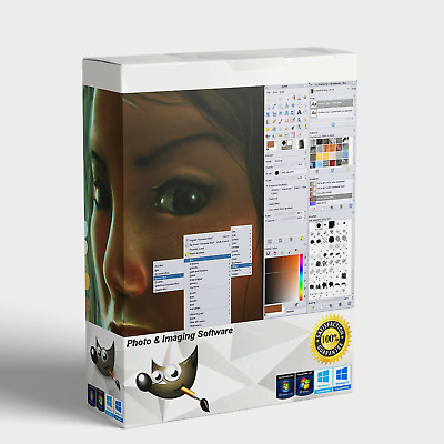Professional Photo Editing Software Alternative To Photoshop (Digital Download) • 1.99£
