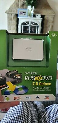 VHS To DVD By HONESTECH 7.0 Deluxe Video Conversion • 30£