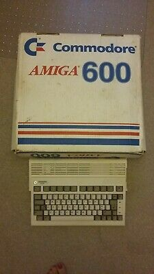 boxed Amiga A600 Computer With Speed Mouse + 2 Joysticks + Plenty Of Games • 250£