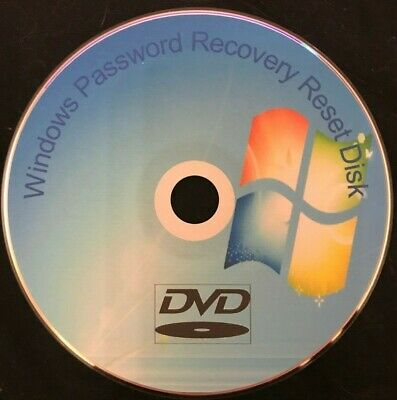 Windows 7 8 10 PC Laptop Password Recovery Remove Reset Utillity Disc FREE P&P • 1.85£