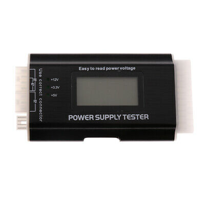 20+4Pin LCD Power Supply Tester For ATX, ITX, PCI-E,SATA,HDD,Floppy #2 • 9.39£