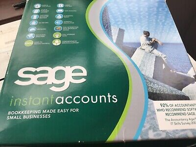 SAGE Instant Accounts Software, Accounting, Book Keeping Windows  • 34.99£