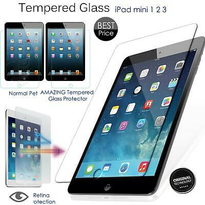 New Real Screen Protector Guard Tempered Glass Film For IPad Mini 1/2/3 UK • 2.99£