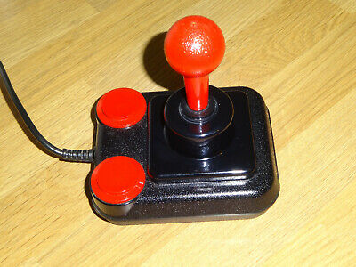 Competition Pro Joystick Tested Working C64 / Spectrum / Atari / Amstrad • 21£