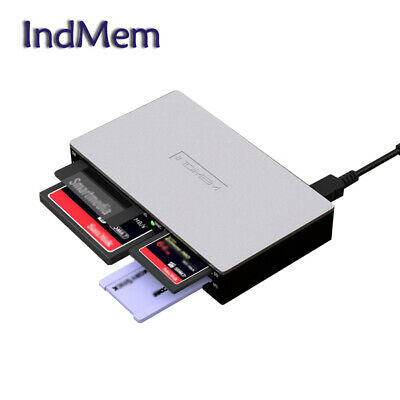 All-in-1 Card Reader Smart Media Multi Writer For SD XD CF SM Adapter Memory • 10.19£