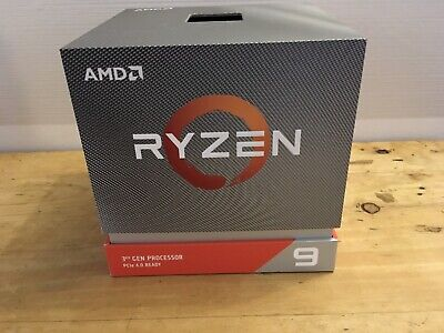 AMD Ryzen 3900x Box And Cooler. NO CPU INCLUDED.  • 30£