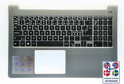 Dell Vostro 15 5568 Palmrest With Nordic N-EEUR Keyboard HJP49 066PD • 34.99£