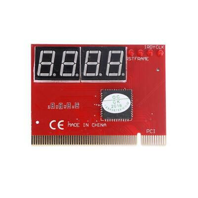 PC 4-digit Code Mainboard Motherboard Diagnostic Analyzer Tester PCI Card • 4.89£