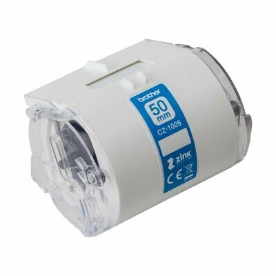 Brother Label Roll 50mm X 5m (For The Brother VC-500W Label Printer) CZ1005 • 34.14£