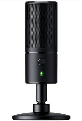 Razer Seiren X - Streaming Usb Condenser Microphone Black • 74.99£
