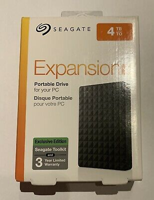 Seagate Expansion 4 Tb Usb 3.0 Brand New Sealed • 40£