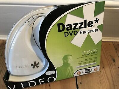Dazzle DVD Recorder Video Capture Device With Cables ~ New Open Box • 24£