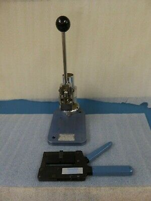 Idc Ribbon Cable Manufacturing Bench Press & Hand Assembly Crimp Tool • 500£