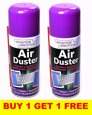 2x Large Air Duster Can Spray Gas Cleaner Compressed Dust Blower Easy Clean Tube • 5.65£