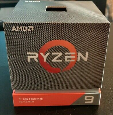 AMD Ryzen 9 3900X 12-Core 3.8 GHz Processor Boxed • 297£