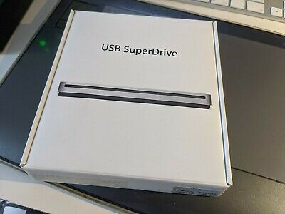 Apple USB SuperDrive DVD Re-Writer - Silver (MD564ZM/A) • 21.01£