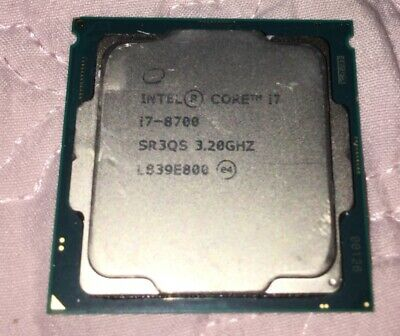 Intel Core I7 8700 SR3QS 3.20GHz • 200£