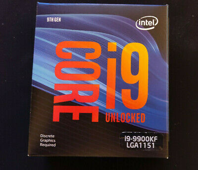 Intel Core I9-9900KF - 3.6 GHz Eight-core Processor • 166£