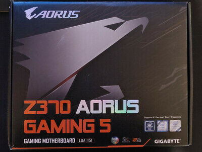 Gigabyte Z370 Aorus Gaming 5 Motherboard With Accessories • 37£