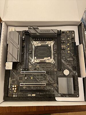 Asrock X299m Extreme4 Intel Motherboard  Open Box • 49.99£