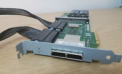 HP 381572-002 Smart Array P800 SAS RAID Controller Card PCI-E X8 • 44.99£
