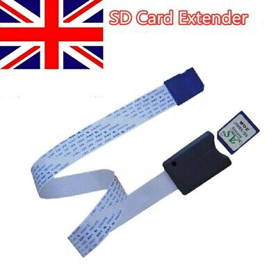 Micro SD To SD Card Extension 62CM Cable Adapter Flexible Extender For Car GPS • 3.69£