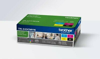 Brother TN243CMYK TN-243 Toner Cartridge Value Pack CMYK • 160.48£