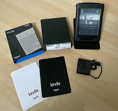 Amazon KINDLE 7th Generation With Leather Case Bandle (Touch Screen, 6inch, 4Gb) • 39.99£