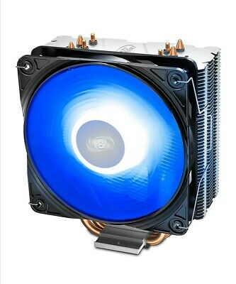 DEEP COOL GAMMAXX 400 V2 Blue CPU Air Cooler With 4 Heatpipes, 120mm PWM Fan • 16.80£