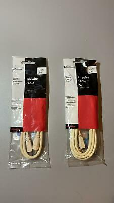Job Lot Firewire Cable 4-pin To 6-pin 1m / 2.1m • 20£