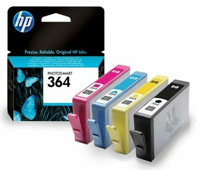 8 X HP364 EMPTY REFILLABLE INK CARTRIDGES FOR HP PHOTOSMART With Chips Installed • 8.85£