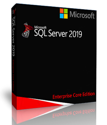Microsoft SQL Server 2019 Standard 8 Core License, Unlimited CALs, With ISO • 29.99£