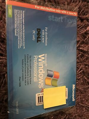 Windows XP Professional Software. Unused. Sealed • 20£