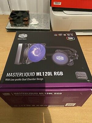 Cooler Master Masterliquid ML120L RGB 120mm AIO Liquid Cooler • 35£