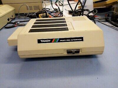 Tandy / Dragon Multi-pak Interface With Some Games Modules • 9.99£