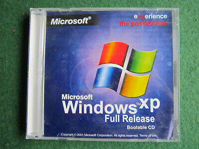 Microsoft Windows XP Full Release Bootable CD • 12£