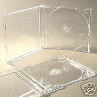 25 Cd Jewel Cases Complete With Clear Trays + Free Del • 9.49£