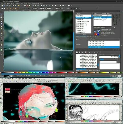 Drawing Photo Animation Illustrator Vector Drawing Compatible For Windows System • 3.99£