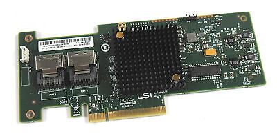 LSI 46C8928 SAS9223-8i Controller / Without Back Plate • 49.95£