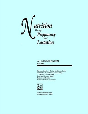 Iom-Nutrition During Pregnancy And Lact  BOOK NEW • 37.90£